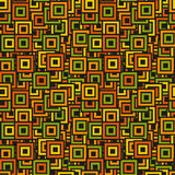Seamless colorful square pattern Stock Image