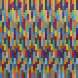 Seamless colorful square pattern mosaics. Background Vector Illustration