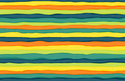 Seamless colorful stripes Stock Photos