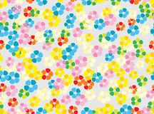 Seamless colorful tender floral background Stock Image