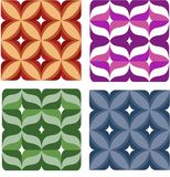 Seamless colorful wallpaper Royalty Free Stock Photos