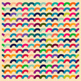 Seamless colorful waves for universal usage. Vector art Stock Photo
