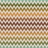 Seamless coloured geometric pixel pattern Stock Photography