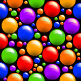Seamless coloured texture Stock Image