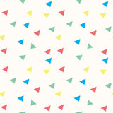 Seamless colourful geometric pattern Royalty Free Stock Photos
