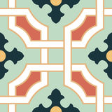 Seamless Colourful Ornament Tiles Royalty Free Stock Photo