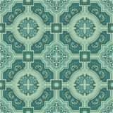 Seamless colourful ornament tiles Stock Image