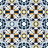Seamless colourful ornament tiles Royalty Free Stock Image