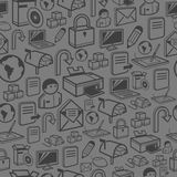 A seamless computer background Royalty Free Stock Photography