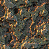 Seamless computer generated background of layered stone Royalty Free Stock Photography