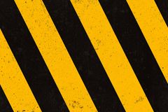 Seamless concrette warning strips texture Royalty Free Stock Image