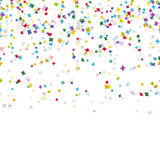 Seamless confetti party background Stock Photos