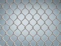 Seamless construction net. 3d illustration on gray background Royalty Free Stock Photo