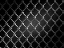 Seamless construction net. 3d illustration on black background Stock Photos