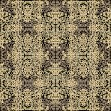 Seamless  contoured pattern Royalty Free Stock Photography