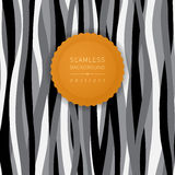 Seamless contrast pattern with waves. Royalty Free Stock Photos