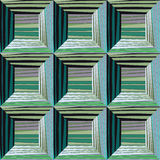 Seamless convex squares - vector illustration. Surround the squares, an illusion, a 3d image. Seamless convex squares - vector illustration. Surround the royalty free illustration