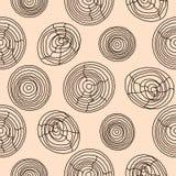 Seamless cork wood pattern. Wooden texture vector background. Seamless cork wood pattern. Wooden pale pink texture vector background circles Stock Image