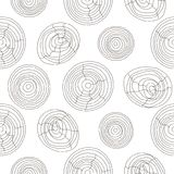 Seamless cork wood white pattern. Wooden texture vector background. Royalty Free Stock Photo