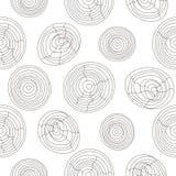 Seamless cork wood white pattern. Wooden texture vector background. Seamless cork wood white pattern. Wooden light texture vector background circles Royalty Free Stock Photo