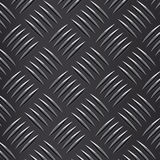 Seamless  corrugated steel plate Royalty Free Stock Photo