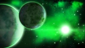 Alien planets. Loop.