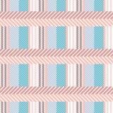 Seamless cotton textile pattern. Stock Photography