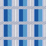 Seamless cotton textile pattern. Royalty Free Stock Images