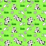 Seamless Cow Background Royalty Free Stock Photo