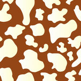 Seamless Cow Hide Pattern Stock Photo