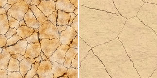 Seamless cracked surface texture Stock Images