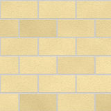 Seamless cream bricks Royalty Free Stock Photography