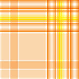 Seamless cream-colored, yellow and light orange checkered patter Royalty Free Stock Photos