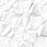 Seamless creased paper texture Royalty Free Stock Photo