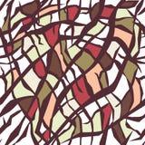 Seamless creative mosaic geometric vector background. vector illustration