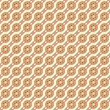 Seamless Crescent Pattern Stock Photos