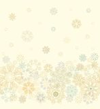 Seamless cristmas paper decoration Stock Images