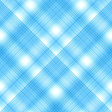 Seamless cross blue colors, checkered diagonal pattern. Vector E Stock Images