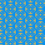 Vector seamless cross pattern Royalty Free Stock Photo
