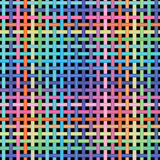 Seamless crossed-pattern Stock Images