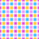 Seamless crosses abstract geometric pattern Royalty Free Stock Image