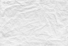 Seamless crumpled paper pattern, background texture Royalty Free Stock Images