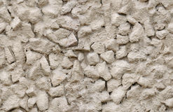 Seamless crushed stone in cement wall texture Royalty Free Stock Photo