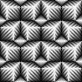 Seamless Cube Pattern. 3d Abstract Geometric Texture Royalty Free Stock Photo