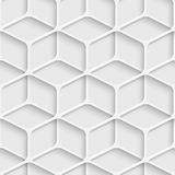 Seamless Cube Pattern. Vector Abstract Seamless Cube Pattern Stock Photo