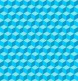 Seamless cube pattern Royalty Free Stock Images