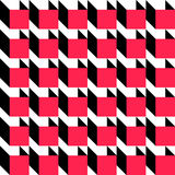 Seamless Cube Pattern Royalty Free Stock Image