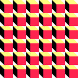 Seamless Cube Pattern. Vector Regular Texture Royalty Free Stock Photography