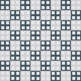 Seamless cube square industrial vector background Royalty Free Stock Photos