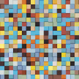 Seamless cubes. Abstract geometric pattern with cubes Royalty Free Illustration